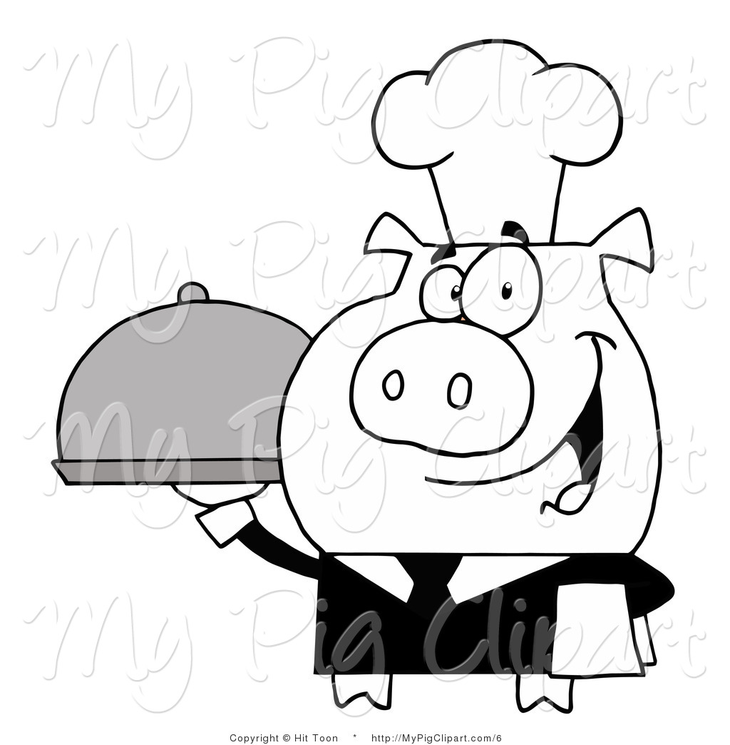 Black and white pig wearing hair bonnett clipart freeuse Overalls Clipart | Free download best Overalls Clipart on ClipArtMag.com freeuse