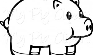 Black and white piggy bank clipart free library Piggy Bank Clipart Black And White | Clipart Panda - Free Clipart ... free library