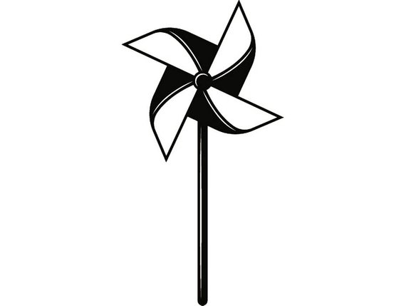 Black and white pinwheel clipart freeuse library Pinwheel Clipart (104+ images in Collection) Page 3 freeuse library