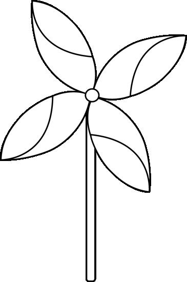 Black and white pinwheel clipart transparent stock Black and White Spring Pinwheel Clip Art - Black and White Spring ... transparent stock