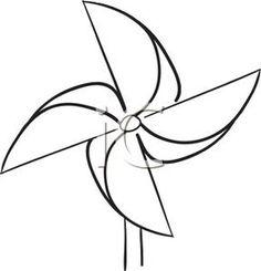 Black and white pinwheel clipart jpg transparent download 106 Best Pinwheels images in 2017 | Pinwheels, Diy pinwheel ... jpg transparent download