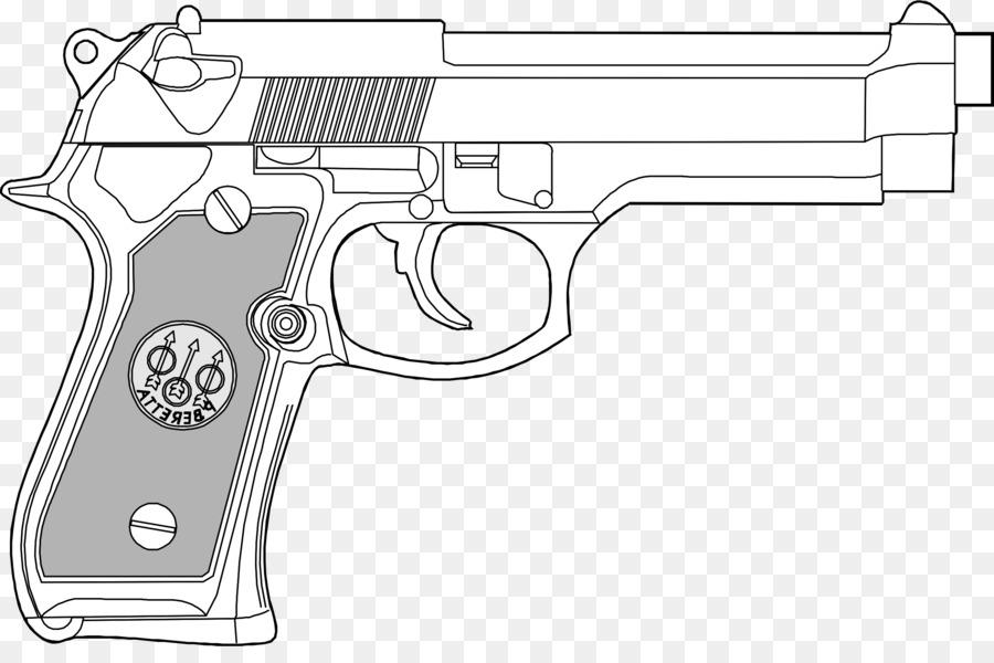 Black and white pistol clipart jpg transparent Book Black And Whitetransparent png image & clipart free download jpg transparent