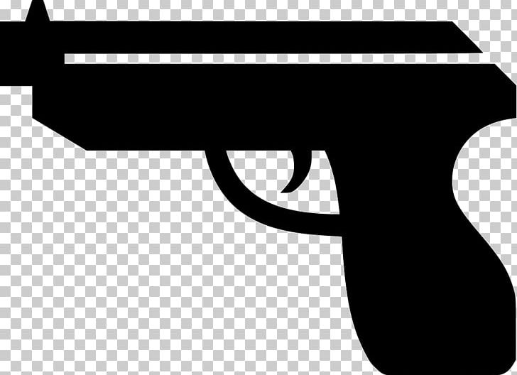 Black and white pistol clipart image library stock Firearm Pistol Weapon Handgun PNG, Clipart, Black, Black And White ... image library stock