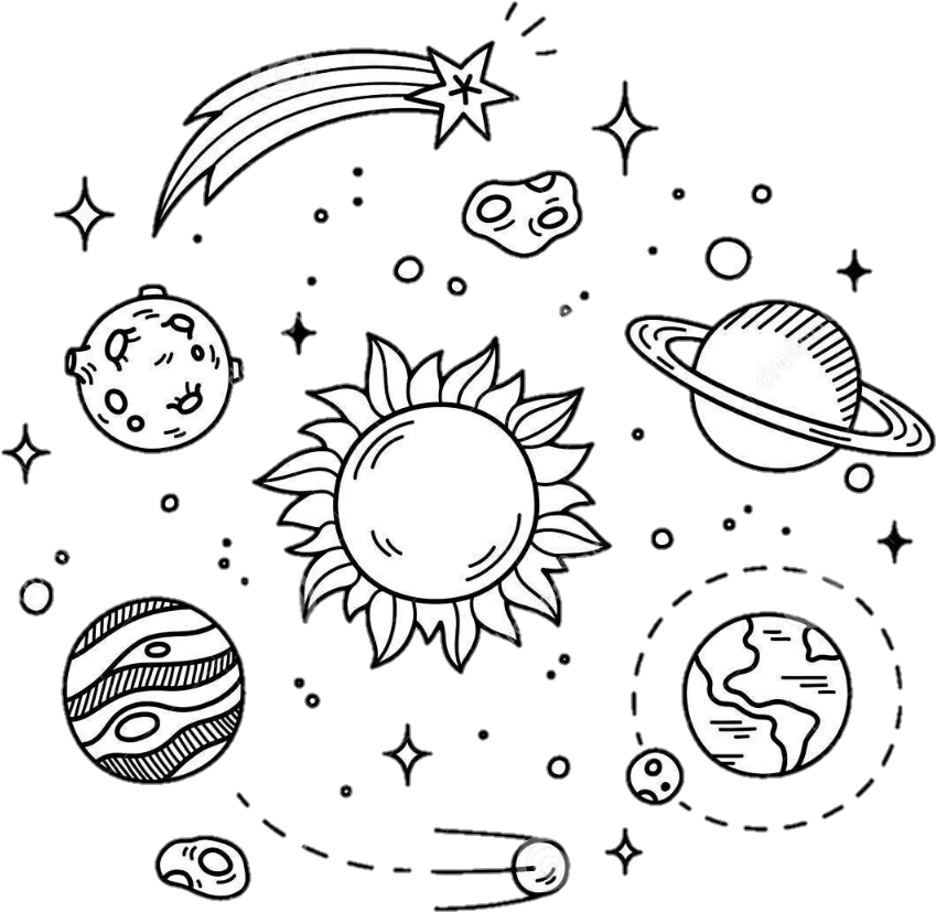 Tumbler clipart black and white png royalty free stock Stars Space Overlay Space Aesthetic Tumblr Tumblr Aesth - Black And ... png royalty free stock