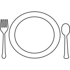 Black and white plate clipart png free download Free White Plates Cliparts, Download Free Clip Art, Free Clip Art on ... png free download