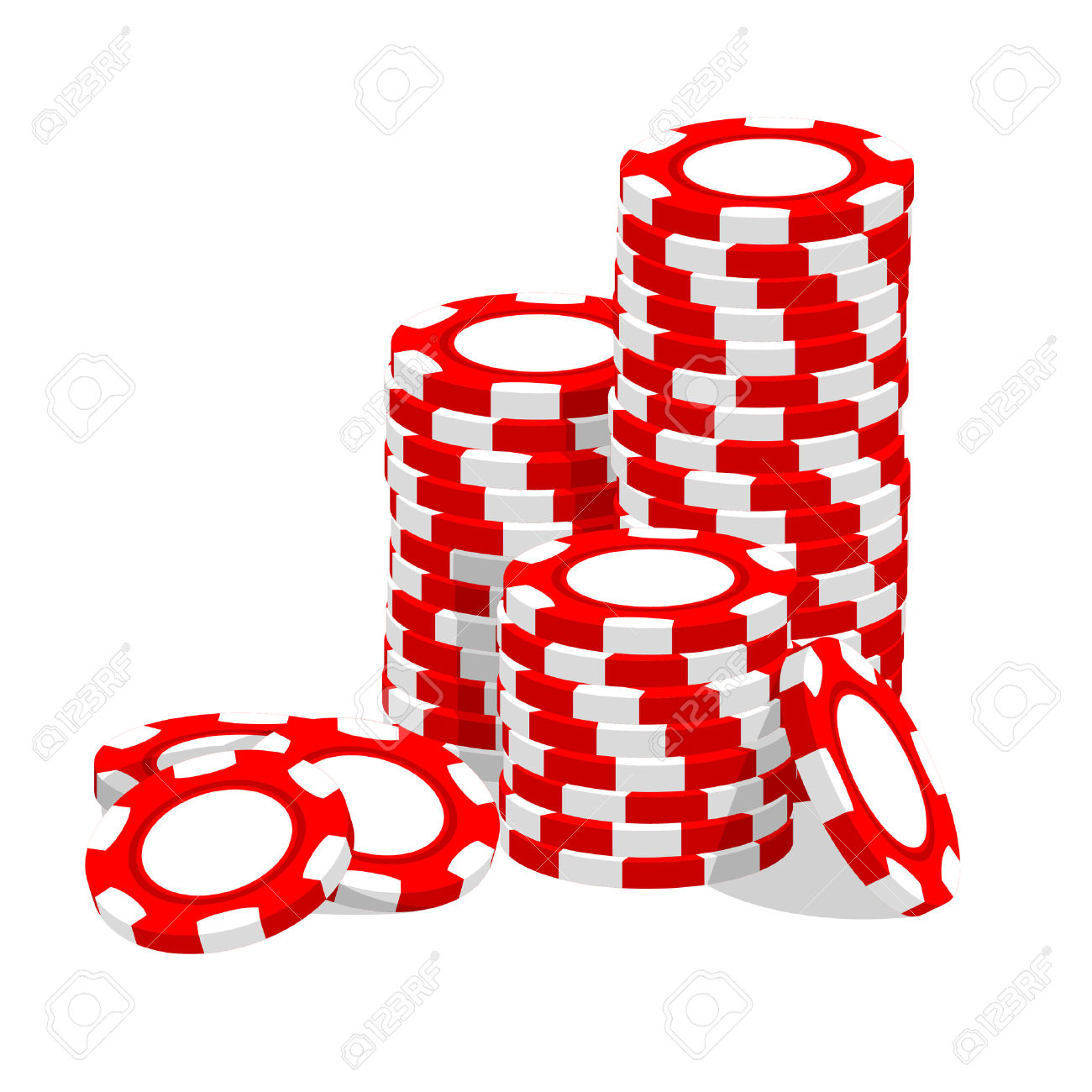 Black and white poker chip stack clipart png library library Poker Clipart | Free download best Poker Clipart on ClipArtMag.com png library library