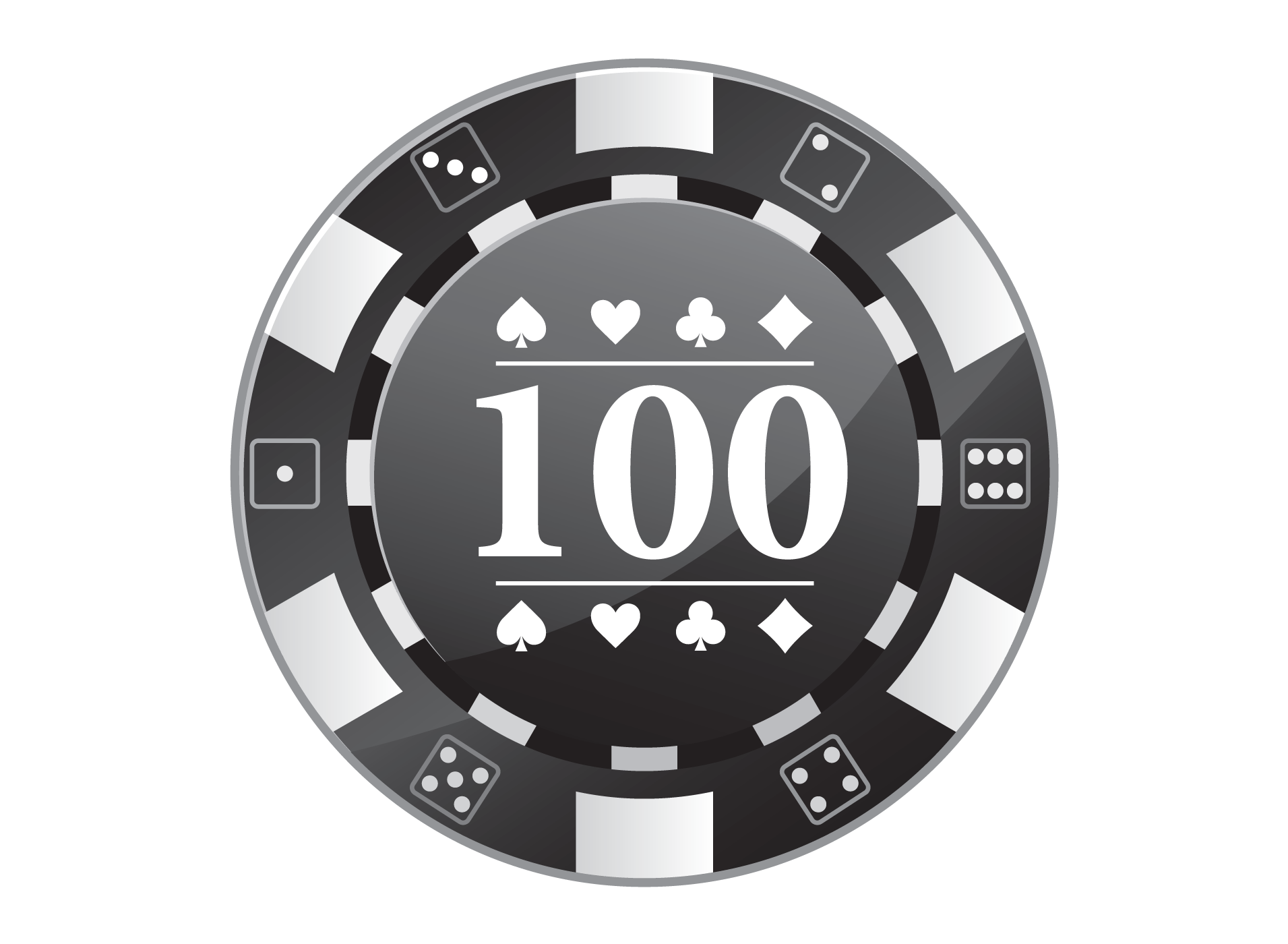 Black and white poker chip stack clipart png royalty free library Pin by Printer on Clipart | Poker chips, Poker, Gambling games png royalty free library