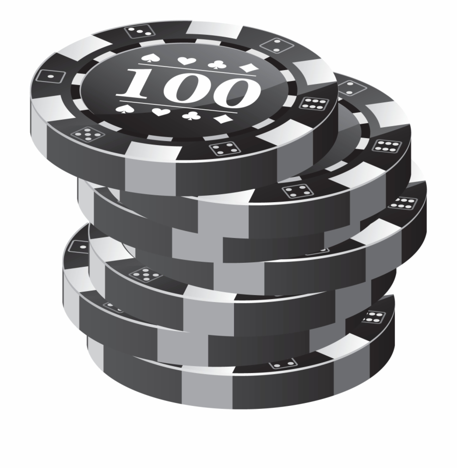 Black and white poker chip stack clipart vector freeuse download Poker Chips - Stack Of Poker Chips Transparent Png Free PNG Images ... vector freeuse download