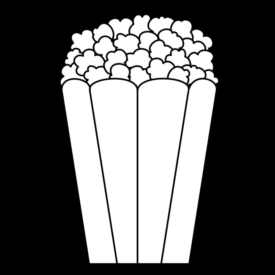 Popcorn black and white clipart jpg transparent library Popcorn clipart black and white clipart images gallery for free ... jpg transparent library