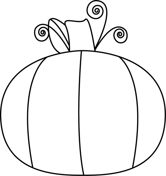 Pumpkin bucket clipart black and white jpg royalty free library Pumpkin Clip Art Black And White | Clipart Panda - Free Clipart Images jpg royalty free library