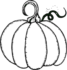 Black and white pumpkins clipart png free stock Pumpkin Clip Art at Clker.com - vector clip art online, royalty free ... png free stock
