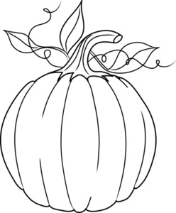 Black and white pumpkins clipart png transparent stock Pumpkin Clip Art Black And White | Clipart Panda - Free Clipart Images png transparent stock