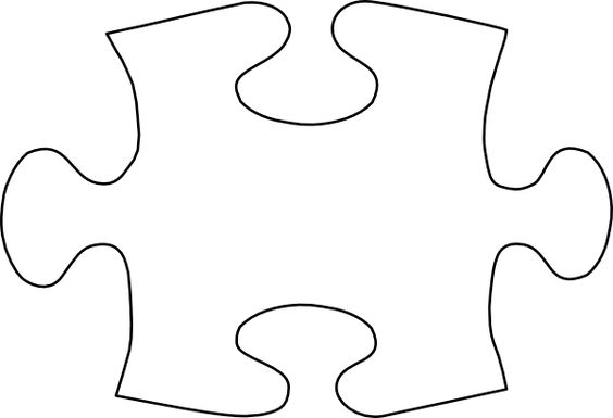 Black and white puzzle piece clipart jpg black and white Puzzle Piece Clipart | Free download best Puzzle Piece Clipart on ... jpg black and white