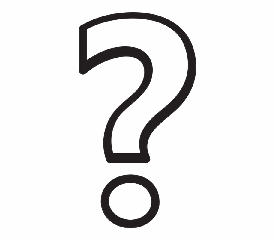 Black and white question clipart svg library stock Question Mark Transparent Png Transparent Background - Black And ... svg library stock