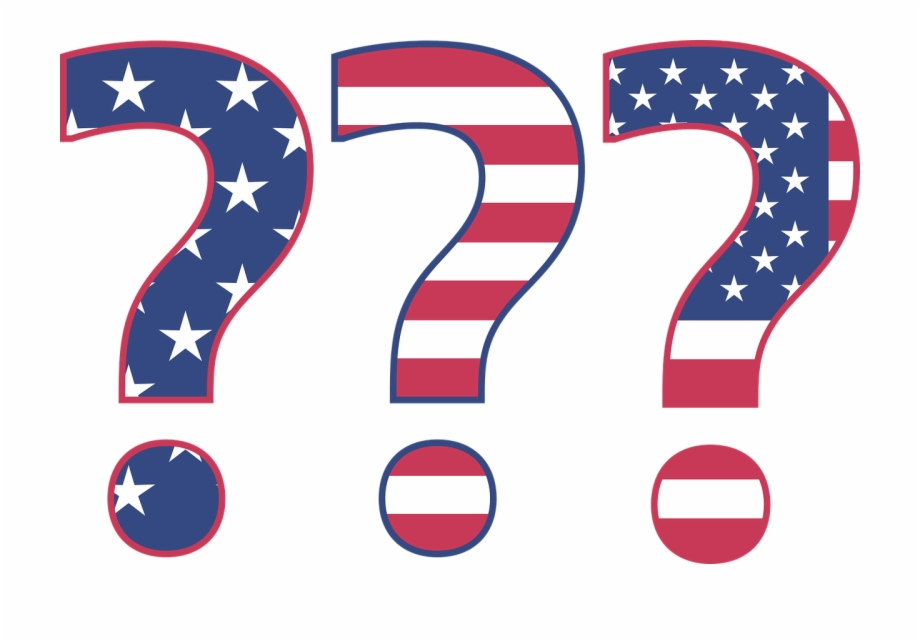 Black and white ragged american flag clipart image clip royalty free stock American Flag Question Mark Png Free PNG Images & Clipart Download ... clip royalty free stock