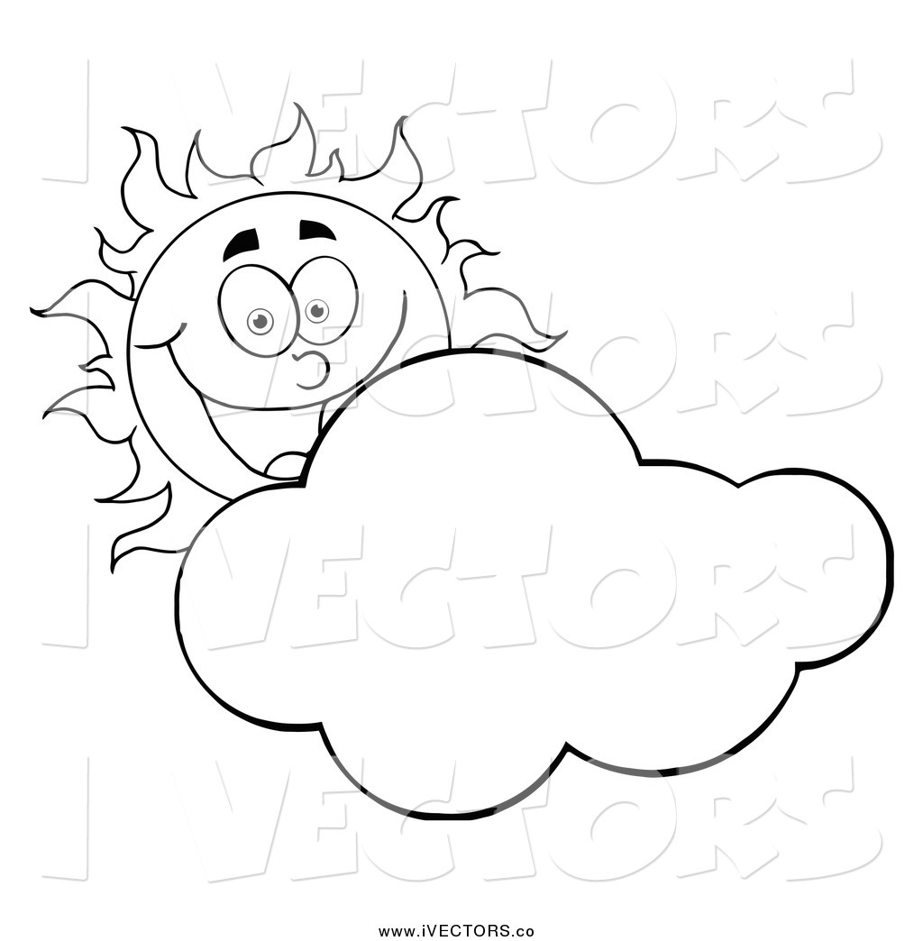 Clipart black and white sun and cloud graphic stock Black And White Sun Clipart | Free download best Black And White Sun ... graphic stock