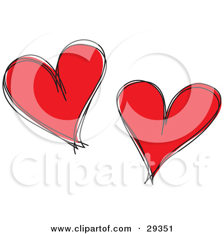 Black and white red hearts love clipart jpg royalty free Royalty-Free (RF) Heart Clipart, Illustrations, Vector Graphics #1 jpg royalty free