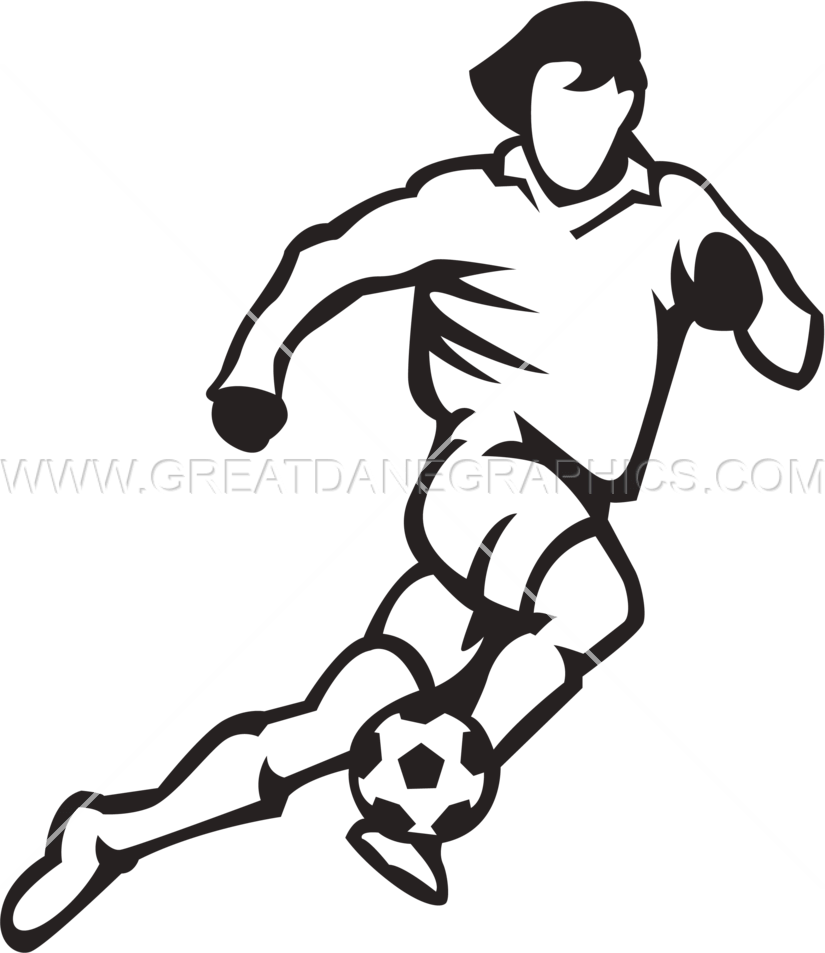 Football player running clipart clip art transparent library 28+ Collection of Soccer Player Running Drawing | High quality, free ... clip art transparent library