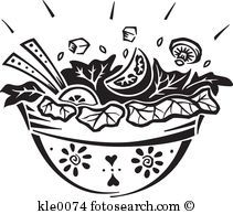 Black and white salad clipart freeuse download Salad Black And White Clipart Clipart Suggest | Mask template ... freeuse download