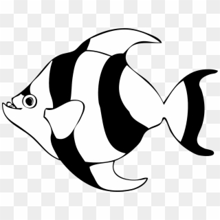 Black and white salt water fish clipart png freeuse library Free Fish Black And White PNG Images | Fish Black And White ... png freeuse library