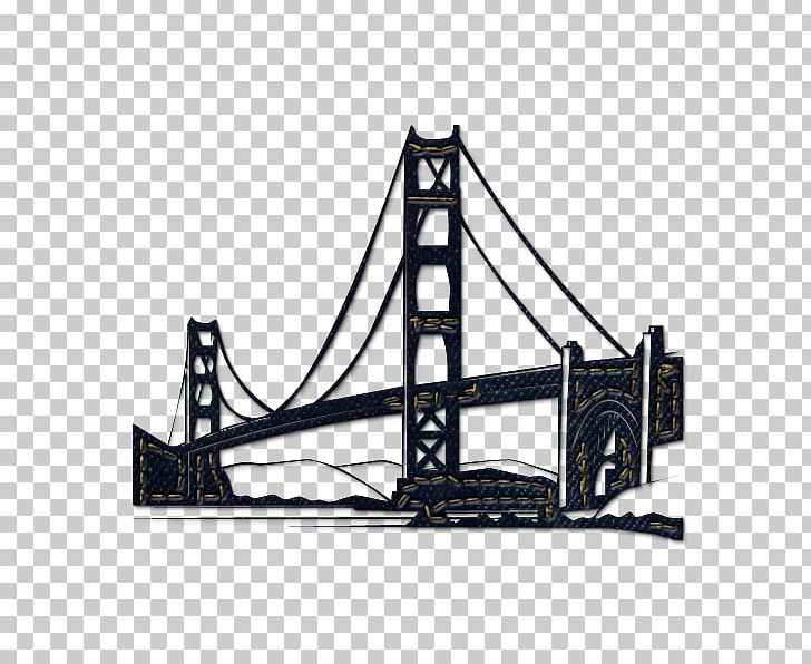 Black and white san francisco street car clipart clip free download Golden Gate Bridge San Francisco Cable Car System Computer Icons PNG ... clip free download
