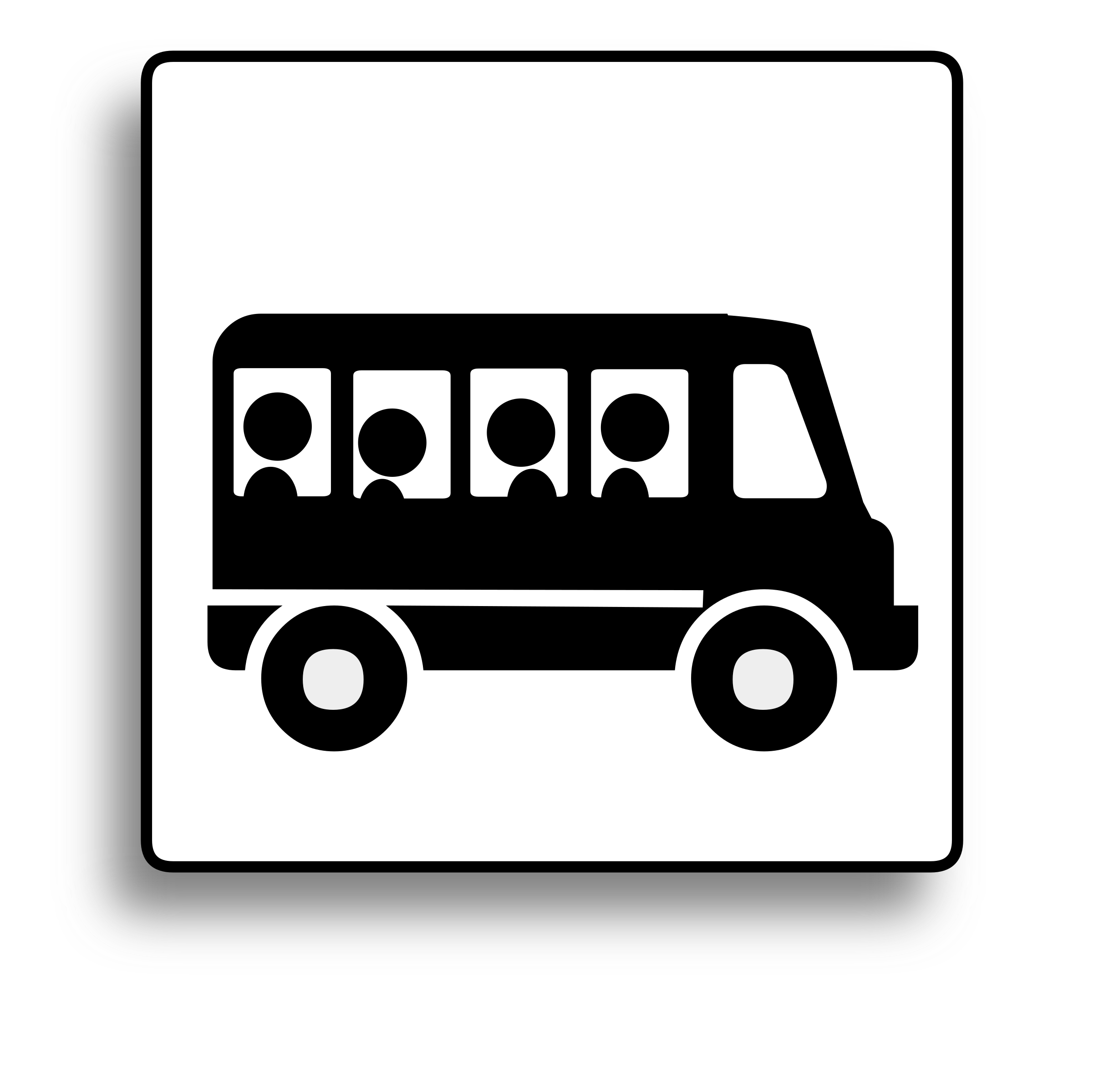 Book bus clipart clip royalty free stock Clipart - Bus Icon for use with signs or buttons clip royalty free stock