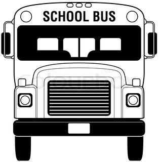Black and white school bus lights clipart graphic royalty free download School bus | Cricut | School bus crafts, School bus clipart, School ... graphic royalty free download