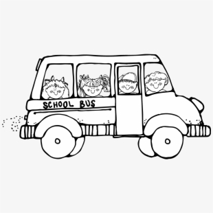 Black and white school bus lights clipart picture black and white library School Bus Black And White School Bus Clip Art Black - School Bus ... picture black and white library
