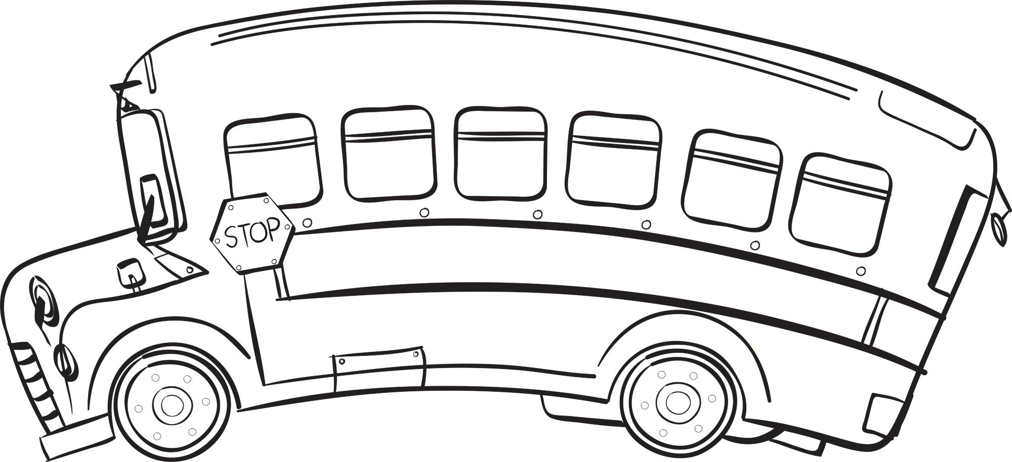 Black and white school bus lights clipart clip Free Bus Clipart Black And White, Download Free Clip Art, Free Clip ... clip