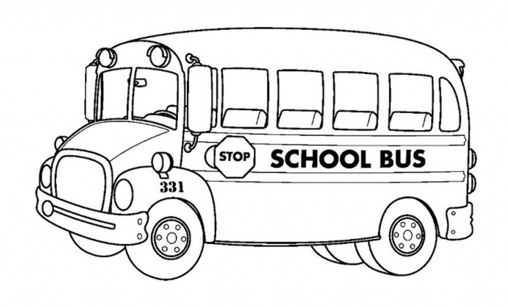 Free printable school bus clipart png freeuse Free Printable School Bus Coloring Pages For Kids | Crafts | School ... png freeuse