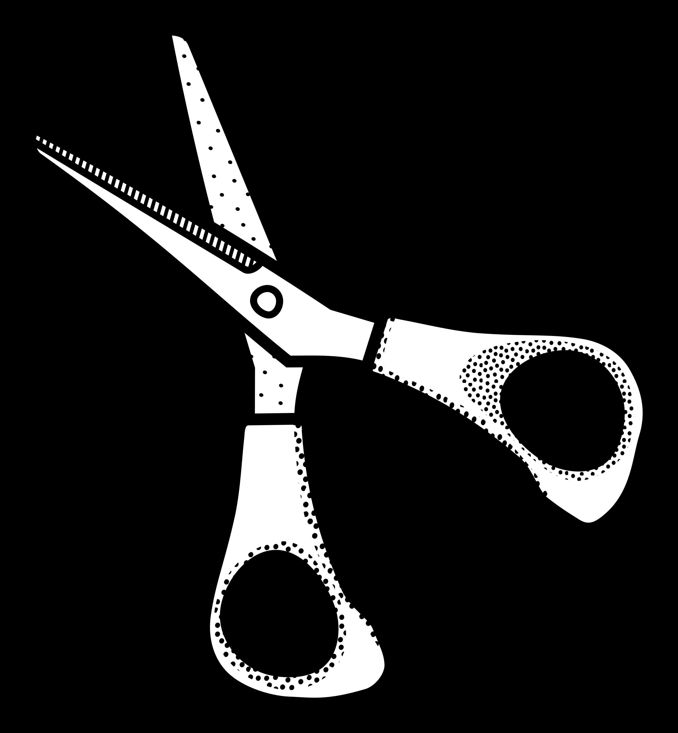 Black and white scissors clipart jpg freeuse Scissors clipart black and white 9 » Clipart Station jpg freeuse