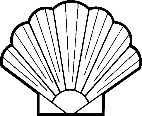 Black and white sea shell clipart image transparent stock Seashell Clipart Black And White | Clipart Panda - Free Clipart Images image transparent stock