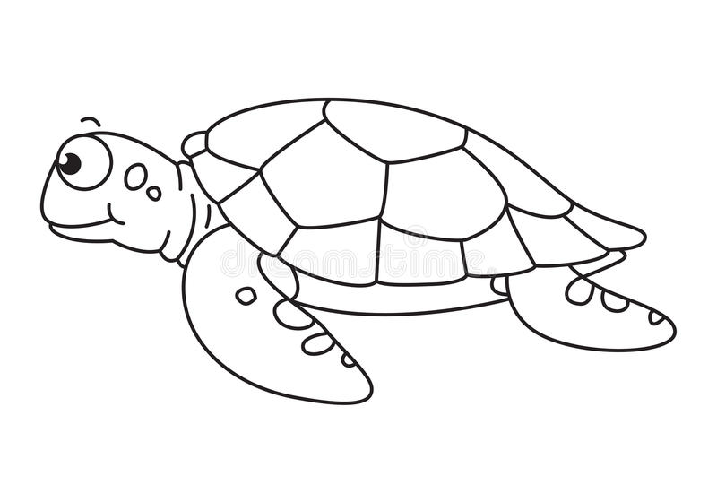 Sea turtle with a black and white clipart picture transparent Sea Turtle Clipart Black And White Cartoon Vector Stock Beautiful ... picture transparent
