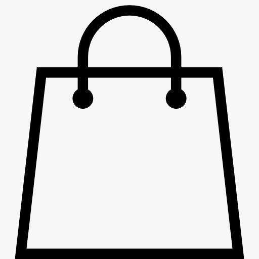 Black and white shopping bag clipart svg freeuse stock Shopping bag clipart black and white 5 » Clipart Station svg freeuse stock