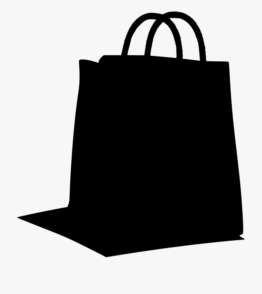 Black and white shopping bag clipart svg transparent library Info - Vector Shopping Bag Silhouette #1892893 - Free Cliparts on ... svg transparent library