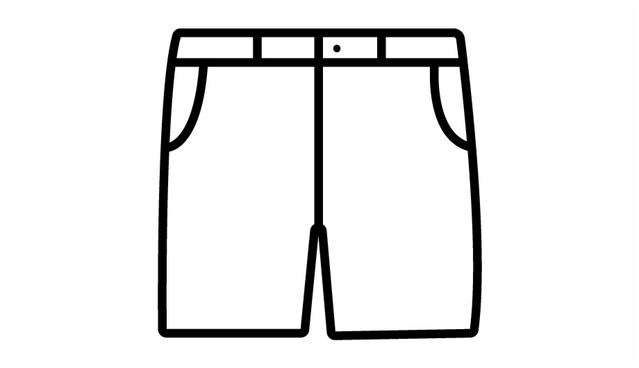 Black and white shorts clipart transparent stock Shorts - Shorts Clipart Black And White, Transparent Png Download ... transparent stock