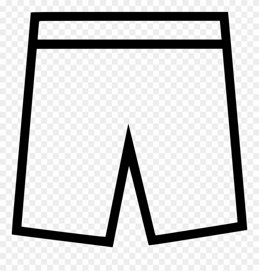 Black and white shorts clipart clip art free stock Shorts Comments - Artistic Inspiration Clipart (#2150716) - PinClipart clip art free stock