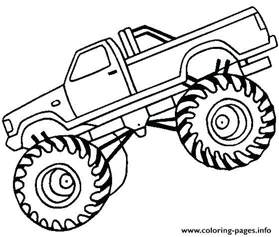 Black and white simple monster truck clipart clip freeuse stock Collection of Monster truck clipart | Free download best Monster ... clip freeuse stock