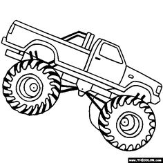 Black and white simple monster truck clipart clip art library stock Free Monster Truck Clip Art, Download Free Clip Art, Free Clip Art ... clip art library stock