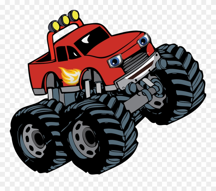 Black and white simple monster truck clipart royalty free stock Blaze Monster Truck Adventure For Android - Monster Truck Clipart ... royalty free stock