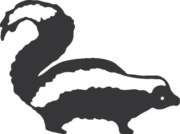 Black and white skunk clipart clip transparent library Skunk Clipart Black And White | Clipart Panda - Free Clipart Images clip transparent library