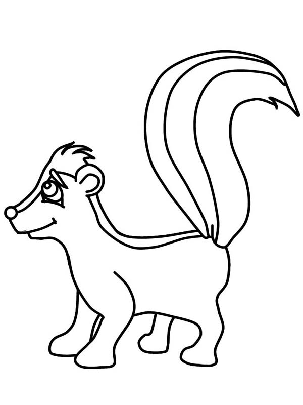 Black and white skunk clipart clipart black and white download Free Skunk Clipart Black And White, Download Free Clip Art, Free ... clipart black and white download