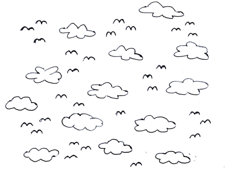 In the sky clipart black and white clip art library stock Clipart black and white sky 2 » Clipart Portal clip art library stock
