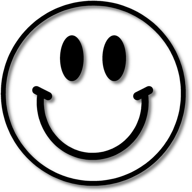 Black and white smiley face clipart graphic Smiley face black and white black and white smiley face images ... graphic