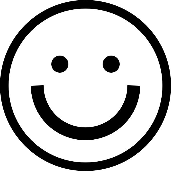 Black and white smiley face clipart free download Smiley Face Clipart Black And White | Free download best Smiley Face ... download