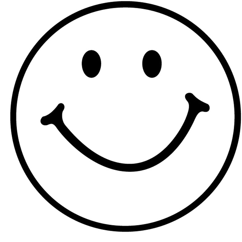 Black and white smiley face clipart png transparent Free Black And White Smiley Faces, Download Free Clip Art, Free Clip ... png transparent
