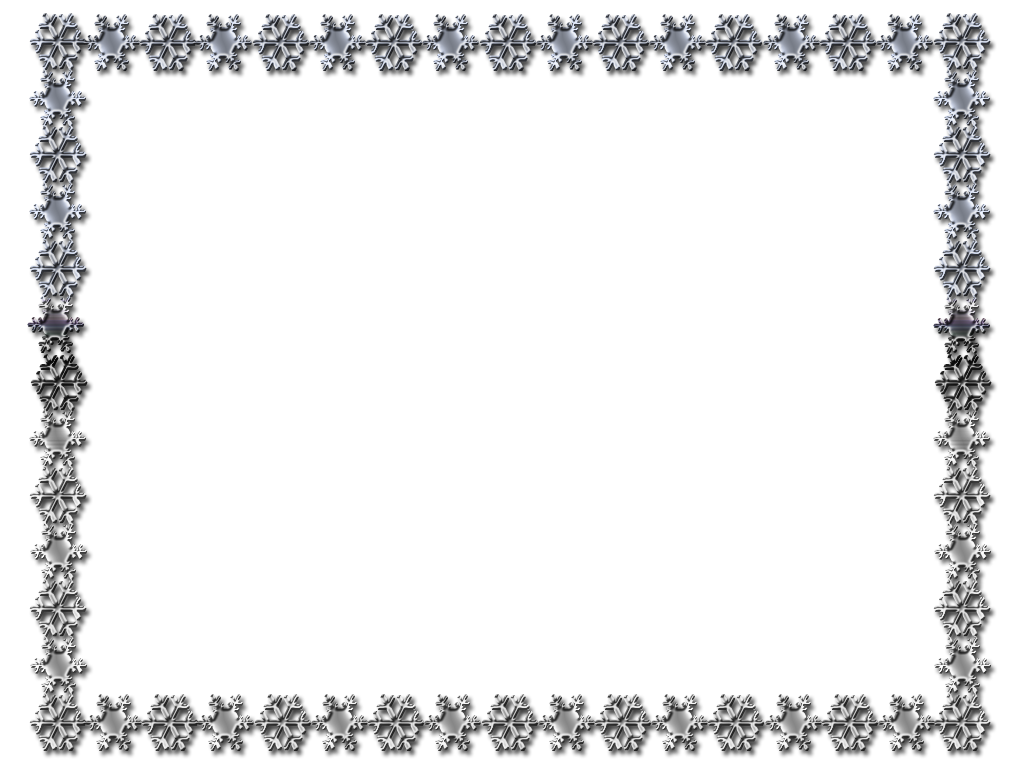 Black and white snowflake border clipart image freeuse download Snowflake Border Black And White. Latest Snowflakes Border Frame Png ... image freeuse download