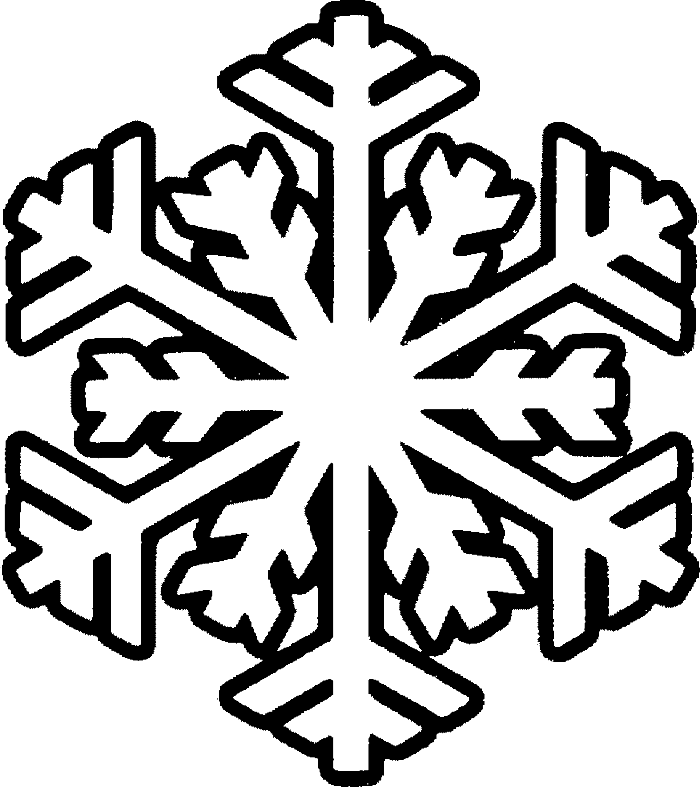 Solid snowflake clipart vector 28+ Collection of Snowflake Drawings For Kids | High quality, free ... vector
