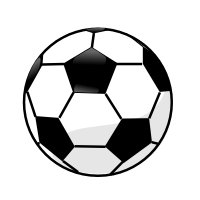 Black and white soccer clipart clip library download Soccer Clipart Black And White | Free download best Soccer Clipart ... clip library download