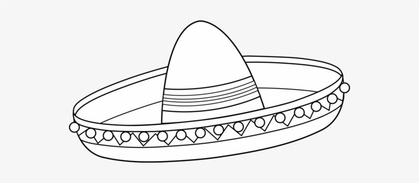Black and white sombrero clipart png library download Clipart Royalty Free Download Collection Of Mexican - Sombrero Clip ... png library download